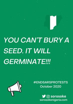 #EndSARS Protest Diaries, October 2020