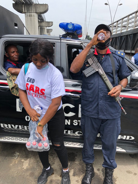 #ENDSARS PROTESTS, OCTOBER 2020