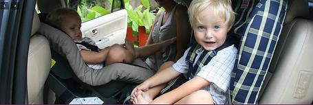 airport transfer with reafacing childseat in Phuket , bilbarnstol i transfer i Phuket kids-on-board