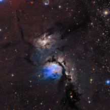 Messier 78 Great reflection Nebula