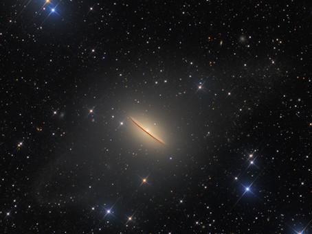Messier 104 : Sombrero Galaxy Ultradeep imaging