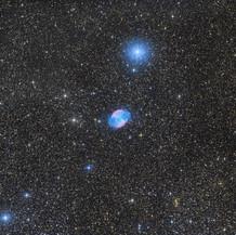 Messier 27 Dumbell Nebula