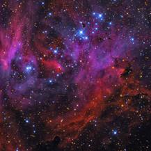 IC 2944 Running Chicken Nebula