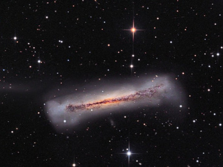 Galaxies in Constellation Leo