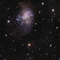 NGC 1313 Topsy Turvy Galaxy)
