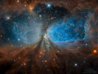 NASA APOD -Star Forming Region S106
