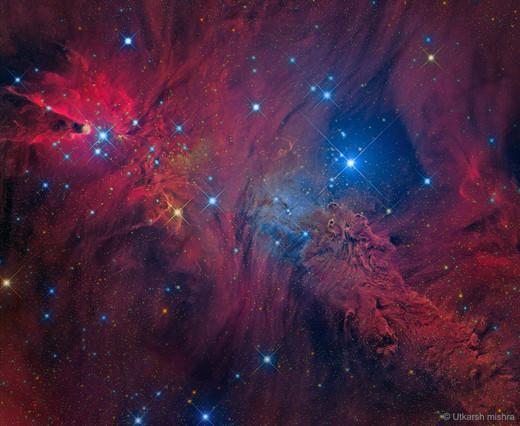 NASA APOD - In the Vicinity of the Cone Nebula