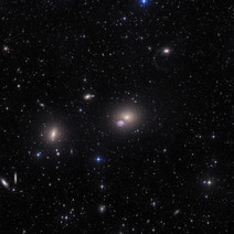 Messier 60, NGC 4660 with Tidal Filament