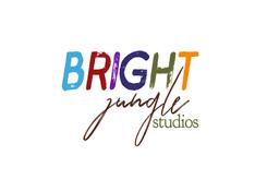 Bright Jungle logo design
