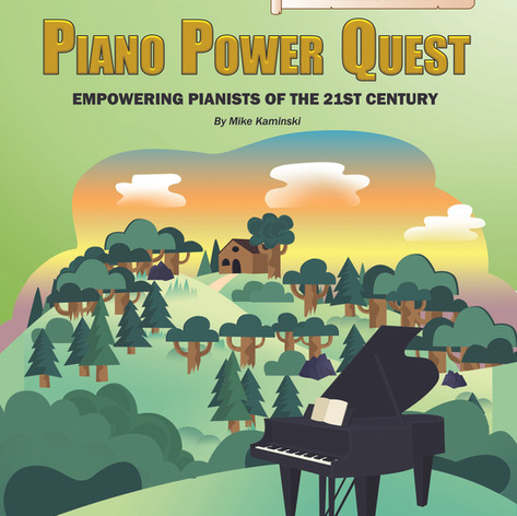Piano Power Quest - Mike Kaminski