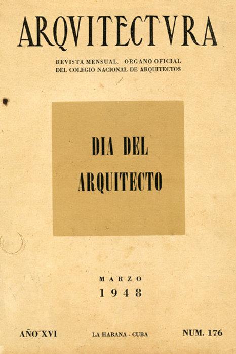 1948 Cuba Revista Arquitectura Cuban Architecture Magazine. Very Good Condition.