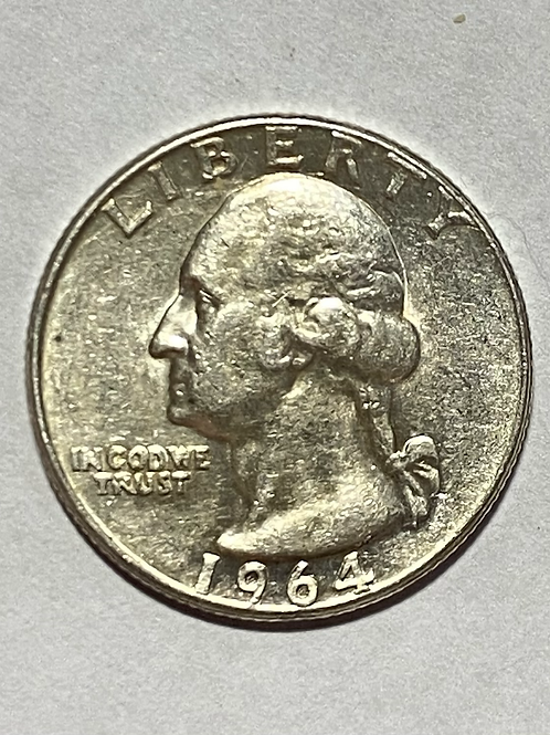 US 1964 QUARTER DOLLAR