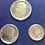 Thumbnail: 1976 S US Mint Bicentennial 3 Coin Piece  Silver Proof  Coin Set