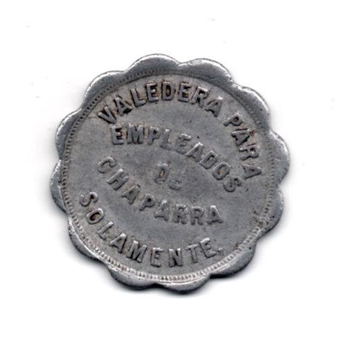 Cuba Token  empleados de chaparra solamente 10 centavos.