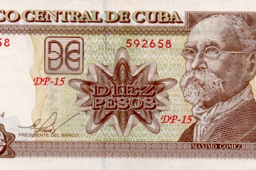 CUBA 2014 UNC MAXIMO GOMEZ -BCC