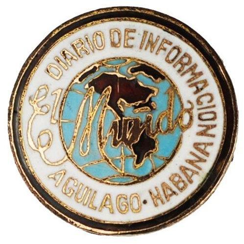 1950S CUBA PERIODICO EL MUNDO PIN