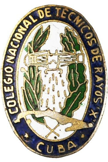 1950s CUBA colegio nacional de técnicos de RAYOS X student.see condition on phot