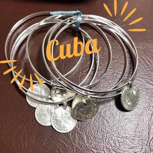 CUBA SEMANARIO MONEDAS ORIGINALES DE PLATA 1949 los Pursos son