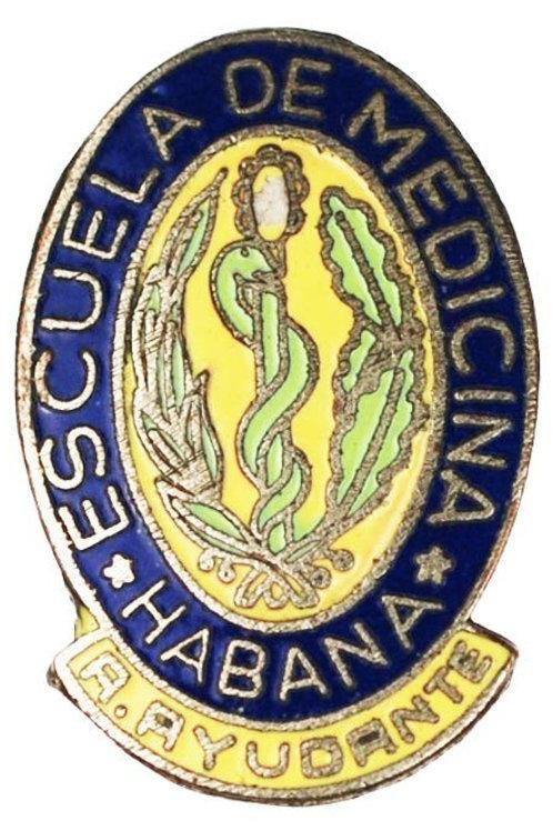 Cuban Escuela De Medicina Habana pin.