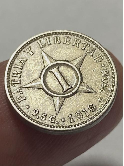 Cuba 1 centavo 1916 súper condición #0015