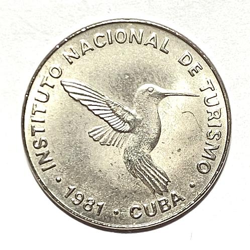 Cuba intur 10 centavos uncirculated 1981.