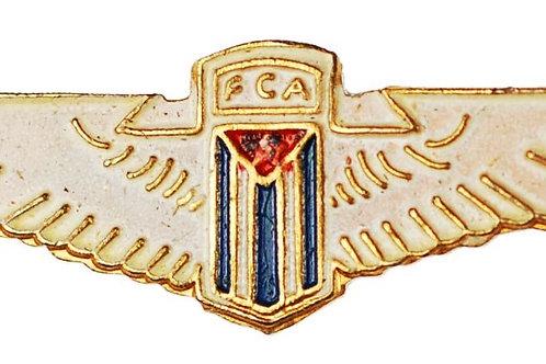 1950s period CUBAN Cuba FCA aviation pilot wings insignia.