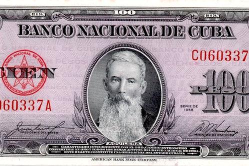 """""""1958"""" PESOS EL MAS DIFICIL  Y ESCASO AÑO UNCIRCULATED SUPER GRADO"""