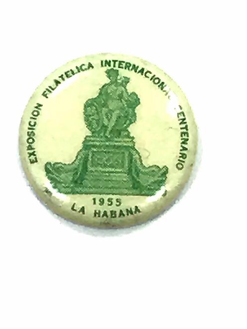CUBA Exposición FILATÉLICA INTERNACIONAL CENTENARIO 1955 LA HABANA.