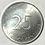 Thumbnail: Cuba 25 centavos intur 1988