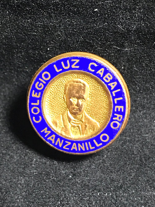 Colegio Luz Caballero Manzanillo cuba pin.