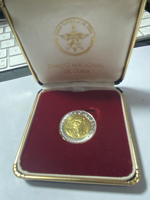 Cuba 5 centavos 1916 ANTONIO MACEO