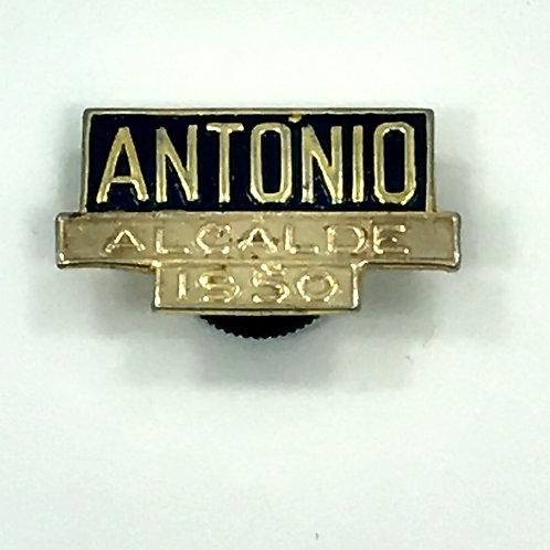 ANTONIO ALCALDE 1950 pin