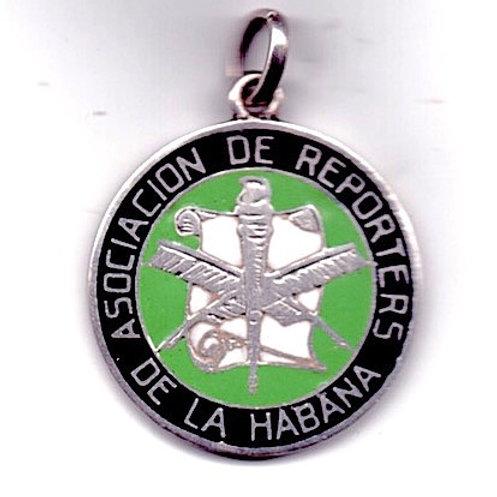 CUBA 1957 ASOCIACION DE REPORTERS DE LA HABANA PREMIO NACIONAL PERIODISTICO