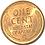 Thumbnail: US 1 CENT 1945  súper condition.
