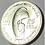 Thumbnail: CUBA CENTENARIO DE JOSÉ MARTI 1953 SILCER 25 CENTAVOS.# a006