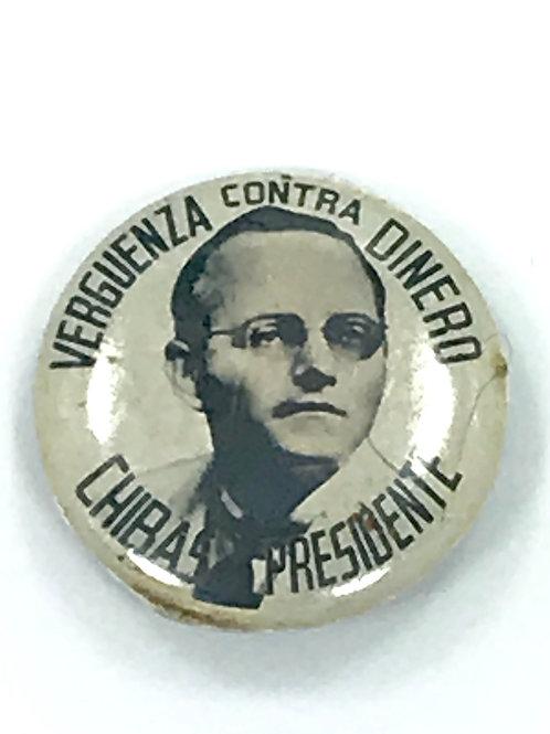 CUBA CHIBAS PRESIDENTE VERGÜENZA CONTRA DINERO PIN