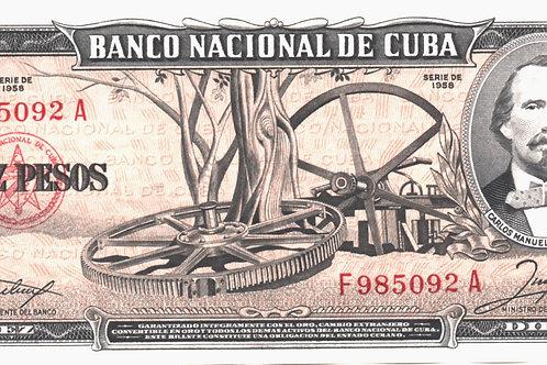 CUBA 10 PESOS 1950