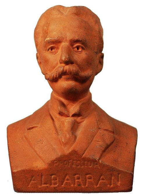1940S CUBAN DR. JOAQUIN ALBARRAN BUST