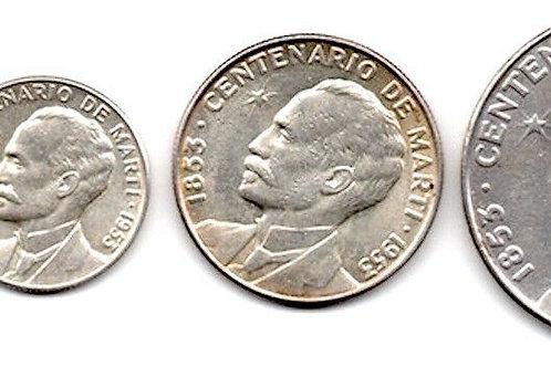 1953 MANIFIESTO DE MONTECRISTI COLECCION DE MONEDAS CUBA.