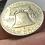 Thumbnail: USA 1961 Franklin  silver coin 50 centavos Dollar.