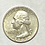 Thumbnail: US. 25 cents dollar 1963 silver