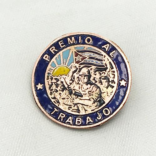 1950s CUBA PREMIO AL TRABAJO PIN.