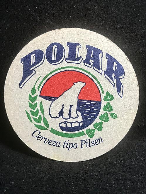 Coaster, Cerveza Polar Tipo Pilsen Cuba