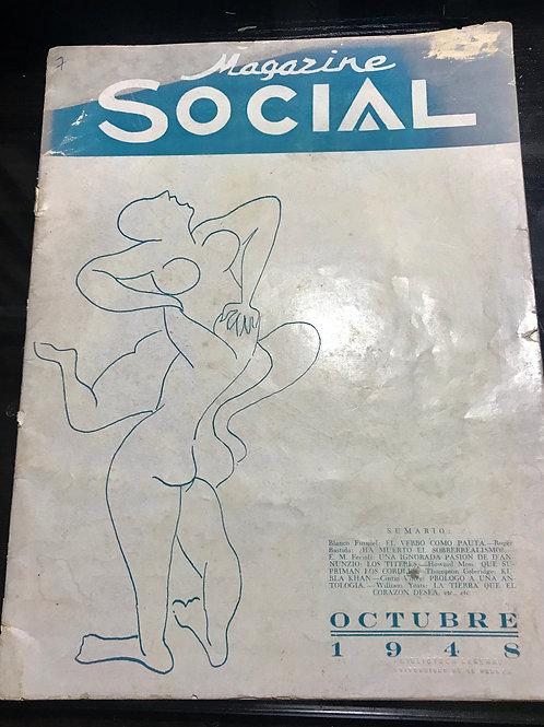 1948 CUBA MAGAZINE SOCIAL