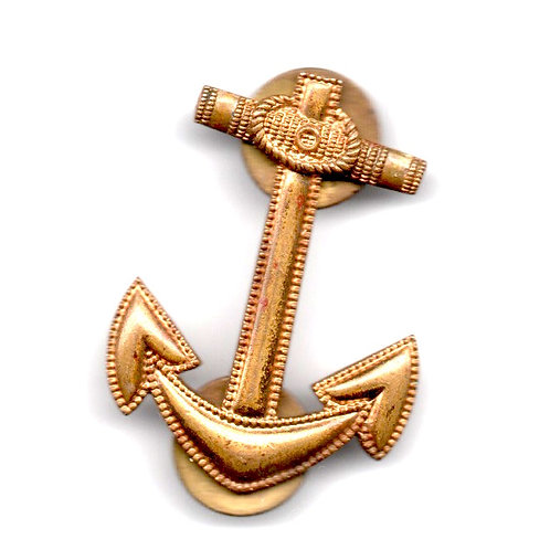 Insignia de la Marina de Guerra de Cuba Republicana. En optimas condiciones de c