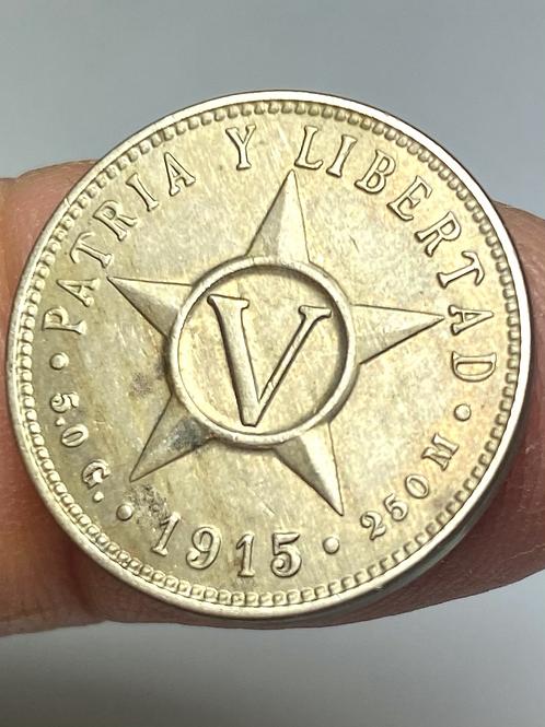 CUBA 5 CENTAVOS 1915