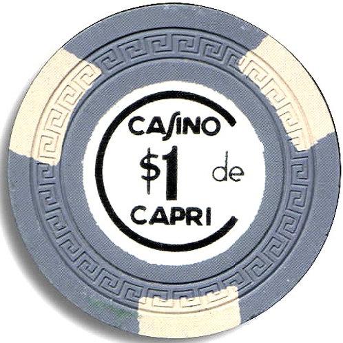 cuba $1 Ficha Casino del Hotel Capri en La ciudad de lHabana.