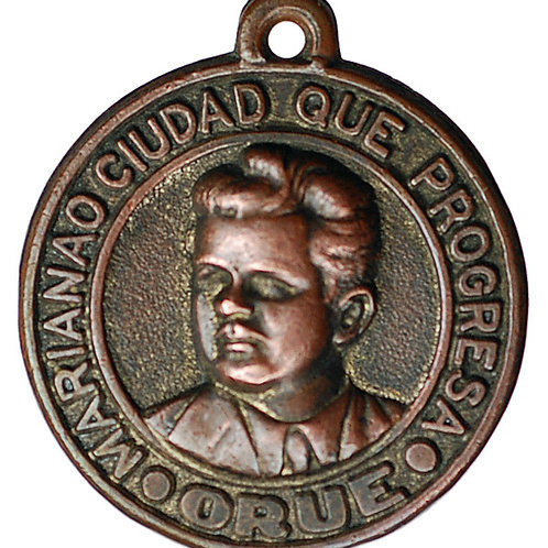 1948 CUBA MARIANAO MAYOR FRANCISCO ORUE MEDAL