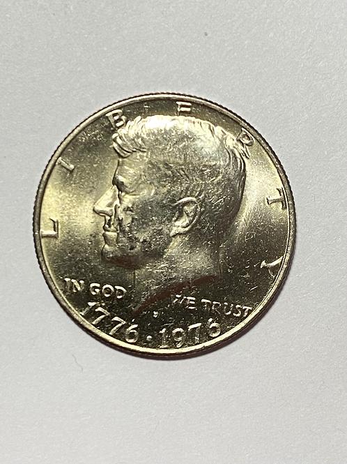 US 50 CENTS COMMEMORATIVE  1776-1976