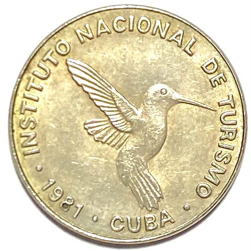 Cuba 10 centavos 1981 intur.